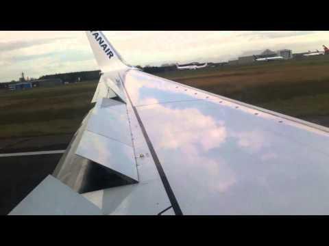 Landing in Shannon Airport Ireland