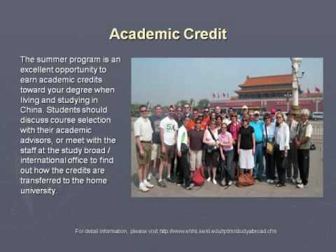 Global Tourism,  International Leadership, Study Abroad in China, Kent State University