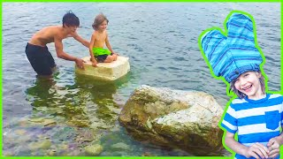 Styrofoam Boat Adventure at Lake Pend Oreille