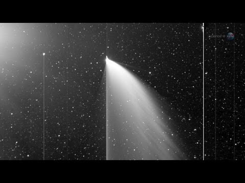 ScienceCasts: Sunset Comet