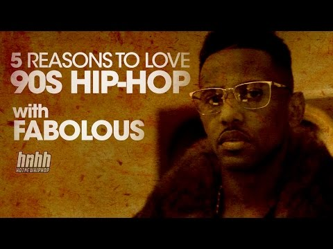Fabolous Lists His Top 5 Reasons Why He Loves '90s Hip-hop video