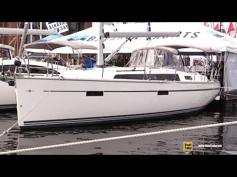 2017 Bavaria Cruiser 37 Sailing Yacht - Deck and Interior Walkaround - 2016 Annapolis Sail Boat Show
