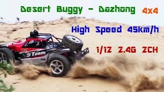 Off Road Desert Buggy 4WD RC Cars Under $100 Wltoys RC Car Review 1/12