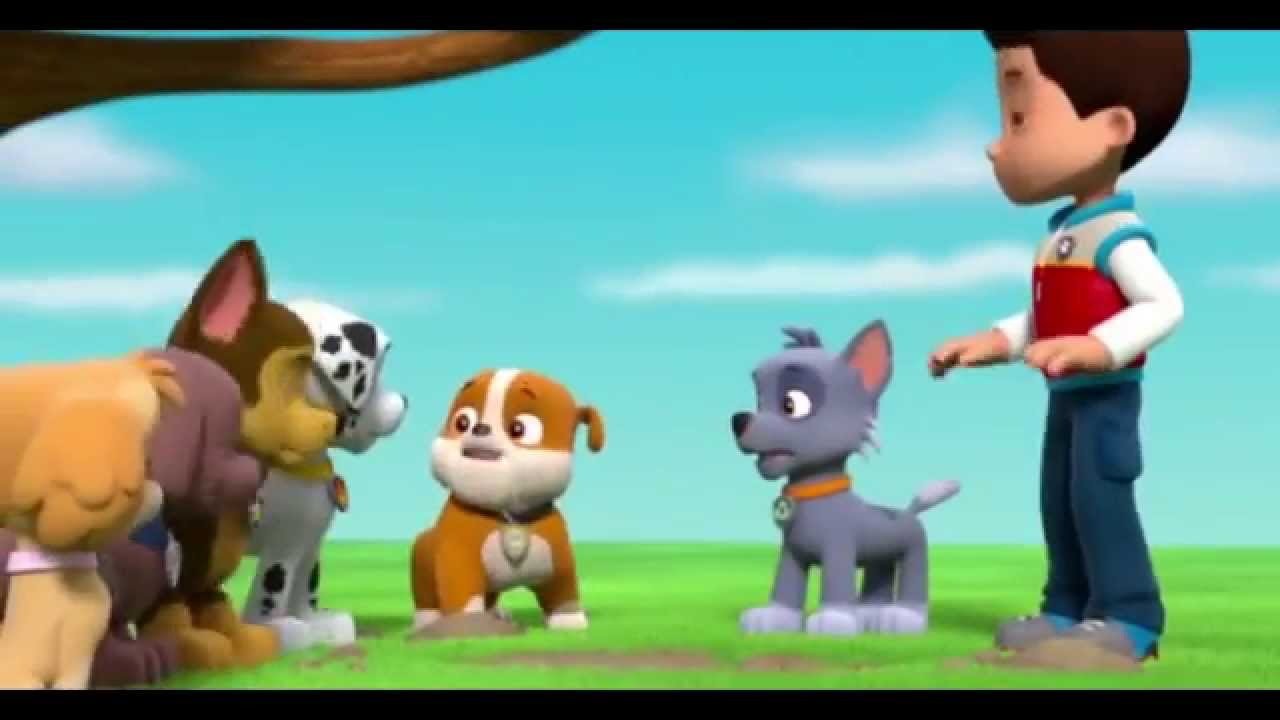 Paw Patrol Pups Save a Ghost Clip1  YouTube