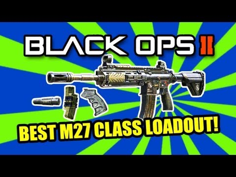 Black Ops 2: BEST ASSAULT RIFLE   M27 BEAST (BO2 Multiplayer Gameplay)