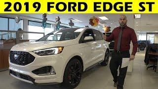 2019 Ford Edge ST - Exterior & Interior Walkaround