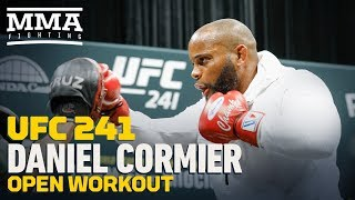UFC 241: Daniel Cormier Open Workout Highlights - MMA Fighting