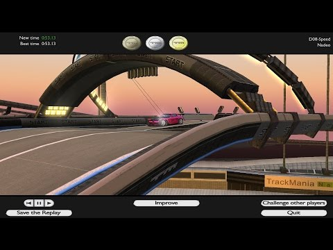 TOP 5 Trackmania press forward / hold forward / fwd maps + link