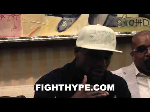 MAYWEATHER BREAKS DOWN WHY GUERRERO WILL SEE THE DIFFERENCE BETWEEN FACING HIM AND FACING BERTO