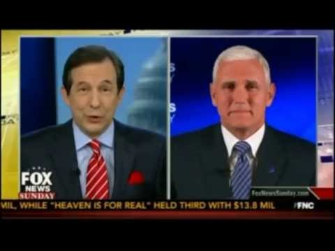 Chris Wallace Interviews Mike Pence On Fox News Sunday