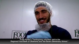 Enes Kanter Food Bank News