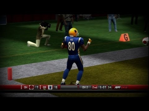 All Pro Football 2k8 - Grand Rapids Goats - Week 4 vs Ohio Red Dogs [Ep.4]