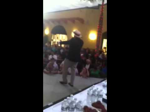 On Stage Martorano's Masters Meatball Eating Championship