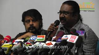 FEFSI Union Press Meet Sivaji Ganesan Statute Issue