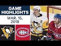 Download NHL Game Highlights | Penguins vs. Canadiens - Mar. 15, 2018 in Mp3, Mp4 and 3GP