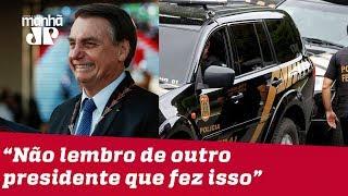 Não lembro do último presidente que fez isso, diz delegado sobre intervenção de Bolsonaro na PF