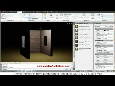 AutoCAD 3D Lighting Tutorial   AutoCAD 2010