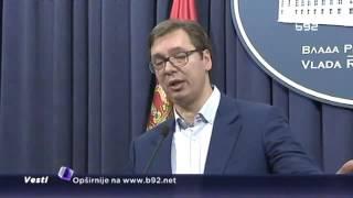Vučić: Ministri će sami odlučiti da li će na Dan RS