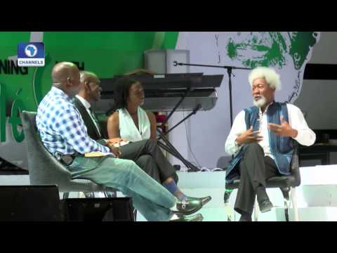 Channels Book Club 010915 An Evening With Wole Soyinka 1