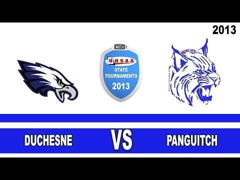 Court 3 2013 State 1A Volleyball Tournament: Duchesne vs Panguitch High School