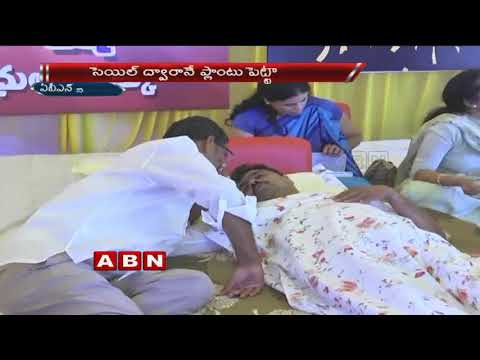 TDP MP CM Ramesh and B.Tech Ravi Hunger Strike Reaches 7th Day over Kadapa Steel Plant | ABN Telugu