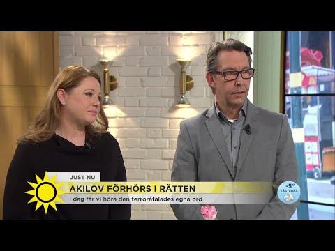 """""""Inte självklart att Akilov kommer att prata i dag"""" - Nyhetsmorgon (TV4)"""