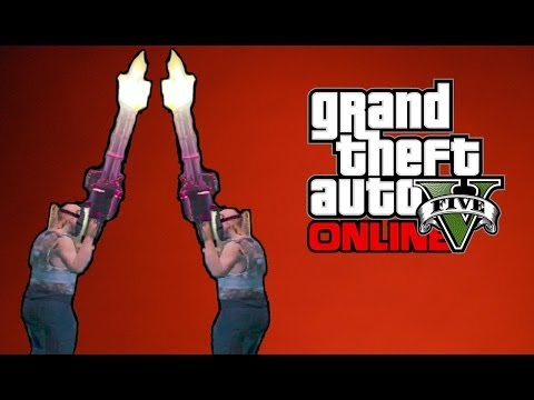 "GTA 5 Online – Funny ""Animation Freeze"" Glitch (Seen by VanossGaming) [GTA V Funny Moments]"