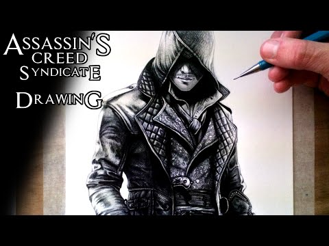 Assassin's Creed Syndicate - Jacob Frye Drawing - Fan Art Time Lapse