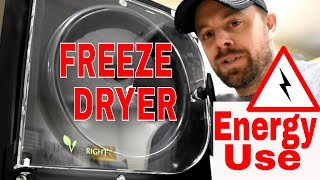 HARVEST RIGHT FREEZE DRYER--How Much ⚡Electricity⚡ Does A HarvestRight Use?