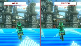 Mario Kart 8: Deluxe Graphics Comparison - Wii U vs. Switch