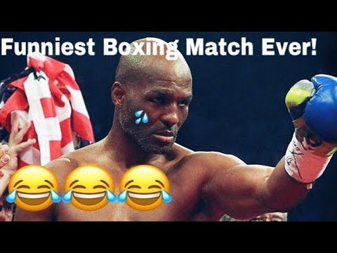 FUNNIEST BOXING MATCH EVER ! GET UP MR. CHAVEZ