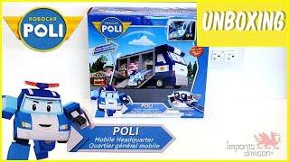 Robocar Poli | Mobile Headquarters Unboxing | Toys for Kids