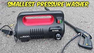 World's Smallest Pressure Washer