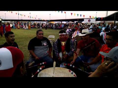 NORTHERN CREE - COMANCHE NATION FAIR 2015