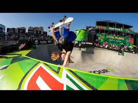 Women's Park Semi Final Live Webcast | 2019 Dew Tour Long Beach