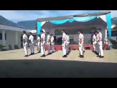 Tari Komando SMK 12 Medan