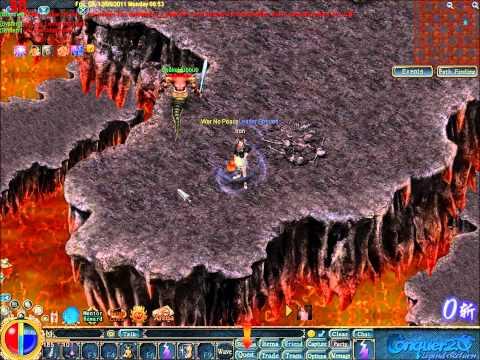 [HQ] Conquer Online Video Guide: The way to Grotto F6[TERATO DRAGON]