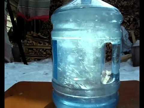Переохлажденная вода как сделать