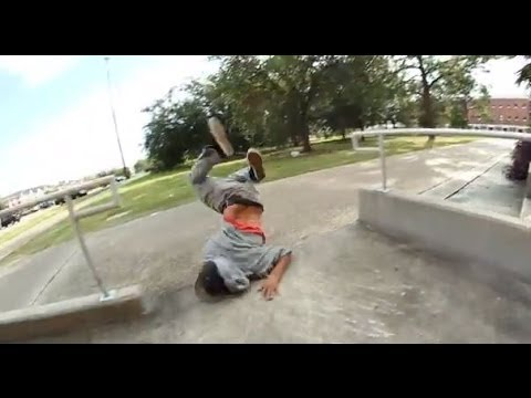 SKATEBOARD FAIL - STEPHEN SERRANO