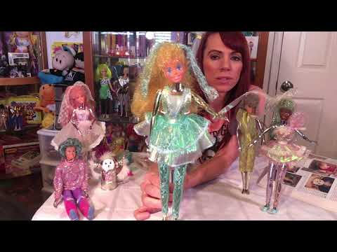 Bringing Back the 80's!- Mattel Spectra Dolls- Lacy. Spacy. Out of this World!