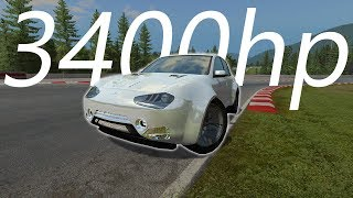 The Most Powerful Car I've Made (Automation + BeamNG)