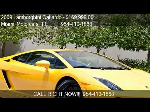 2009 Lamborghini Gallardo LP560-4 Coupe - for sale in ROYAL