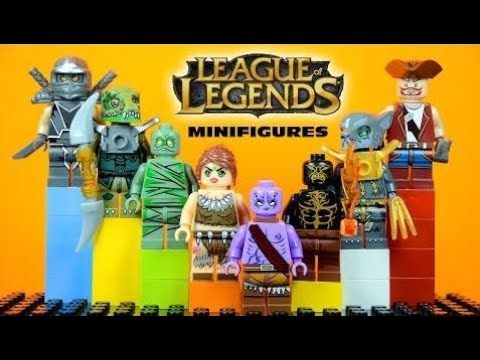 LEGO League of Legends KnockOff Minifigures Set 1 (Bootleg) ᴴᴰ ...