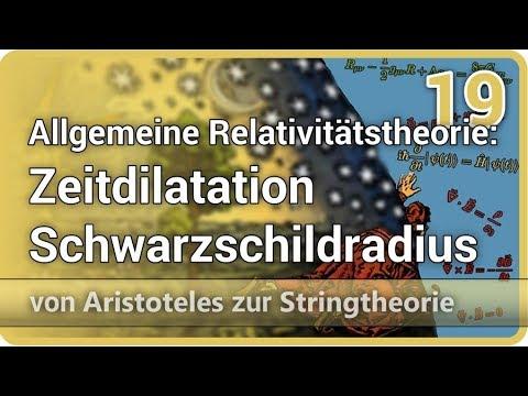 Allgemeine Relativitätstheorie • Zeitdilatation, Schwarzschildradius AzS (19) | Josef M. Gaßner