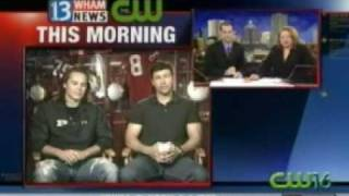 Taylor Kitsch & Kyle Chandler - Local - 13WHAM.com interview