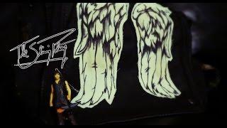 The Walking Dead Daryl Dixon Angel Wing Vest Messenger Bag Prop Cosplay COOL!