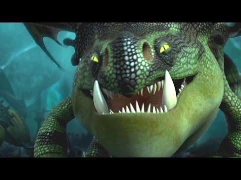 """Scary Dragons"" HOW TO TRAIN YOUR DRAGON 2 Movie Clip"