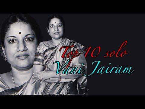 Top 10 Solo Hits Of Vani Jairam | Malayalam Movie Audio Jukebox video