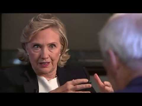 Hillary Clinton on the Middle East, Russia, Britain & becoming a grandmother