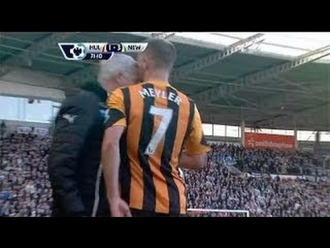 Alan Pardew HEAD BUTT!! ( ORIGINAL VIDEO ) March 1st 2014